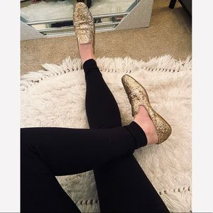 Jimmy Choo sequin loafers